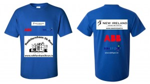 New Ireland Rathfarnham 5k 2014 Tee shirt